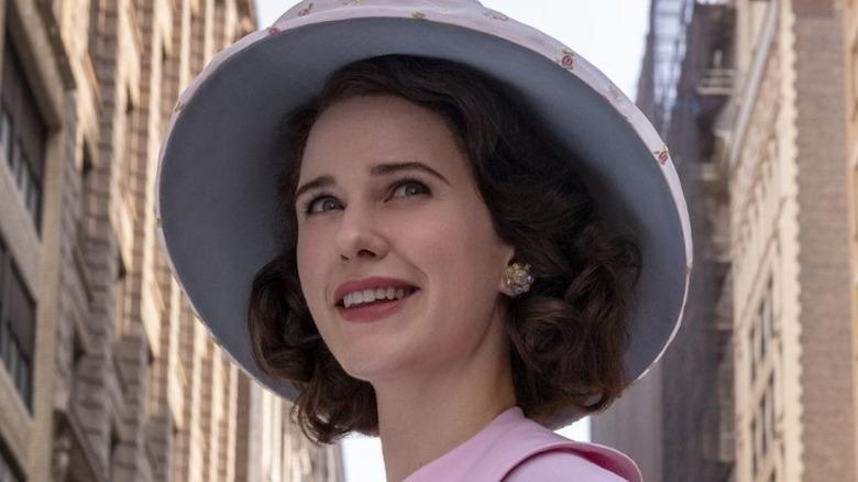 Miriam Maisel smiling