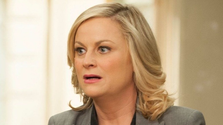 Parks and Recreation's Leslie Knope shocked