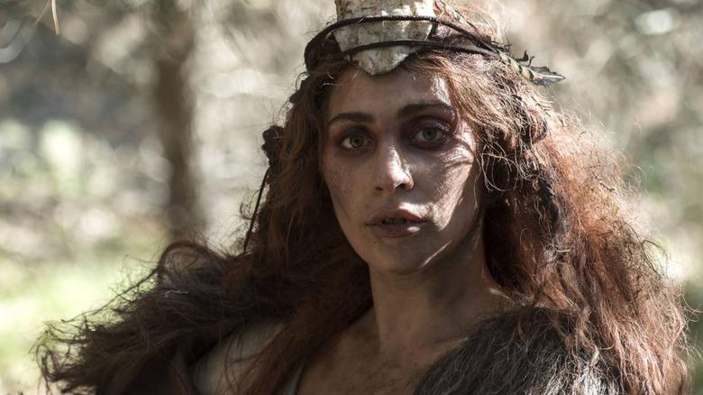 "Lady Gaga as Scáthach in ""AHS: Roanoke"""