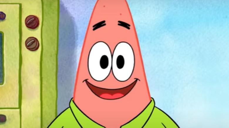 Patrick Star smiling