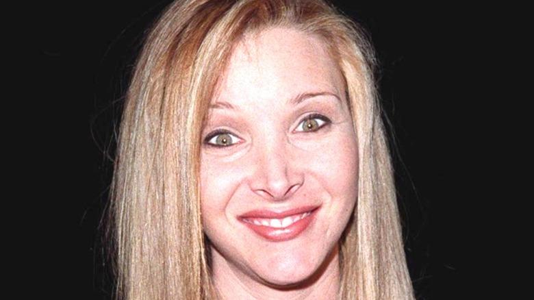 Lisa Kudrow posing and smiling