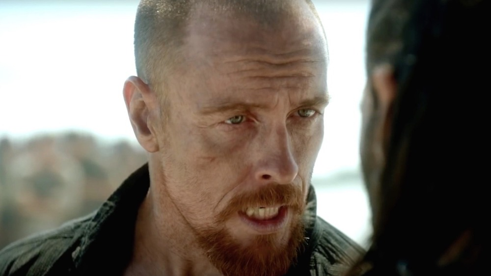 Captain Flint is angry