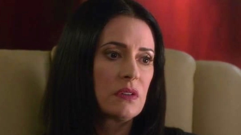Paget Brewster thinking