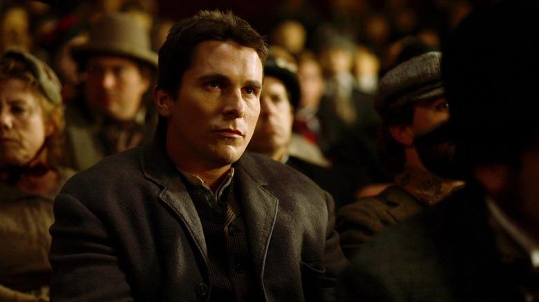 Christian Bale as Alfred Borden in The Prestige