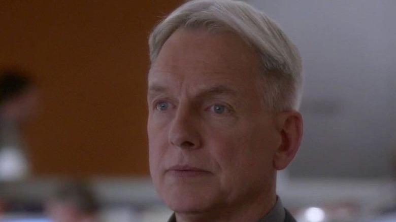 Gibbs looking stern