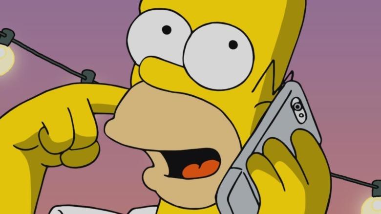 Homer Simpson on The Simpsons