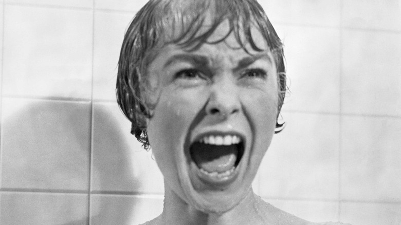 Janet Leigh screaming in shower