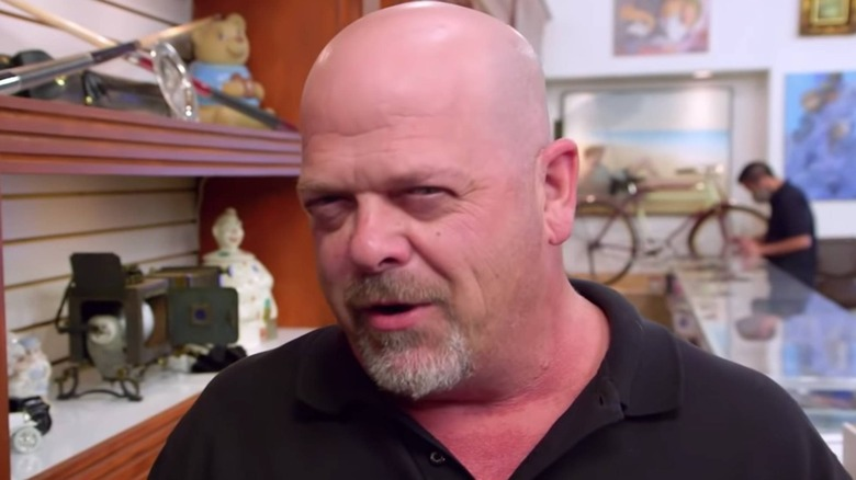 Rick Harrison talking to camera