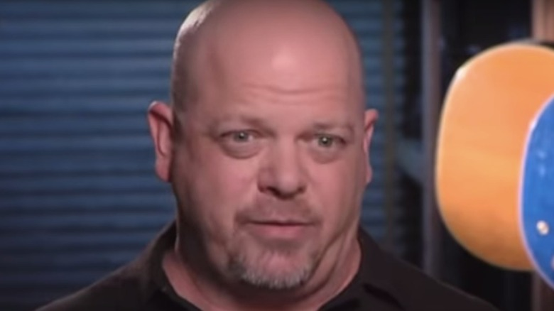 Rick Harrison looking serious