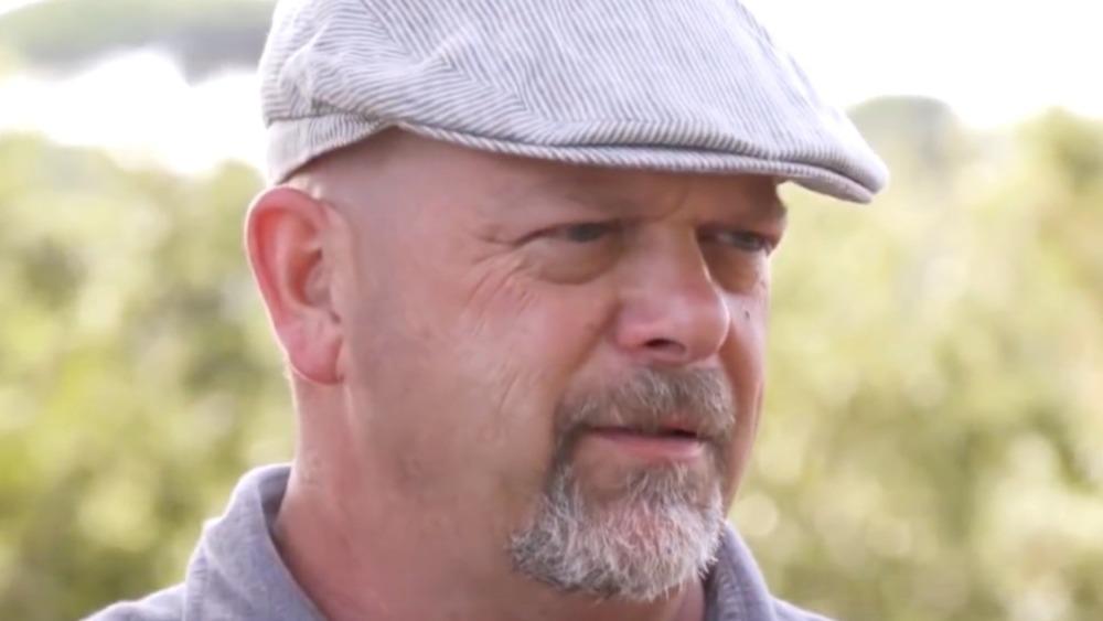 Pawn Stars Rick Harrison driving cap
