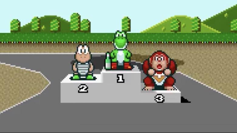 Super Mario Kart for SNES