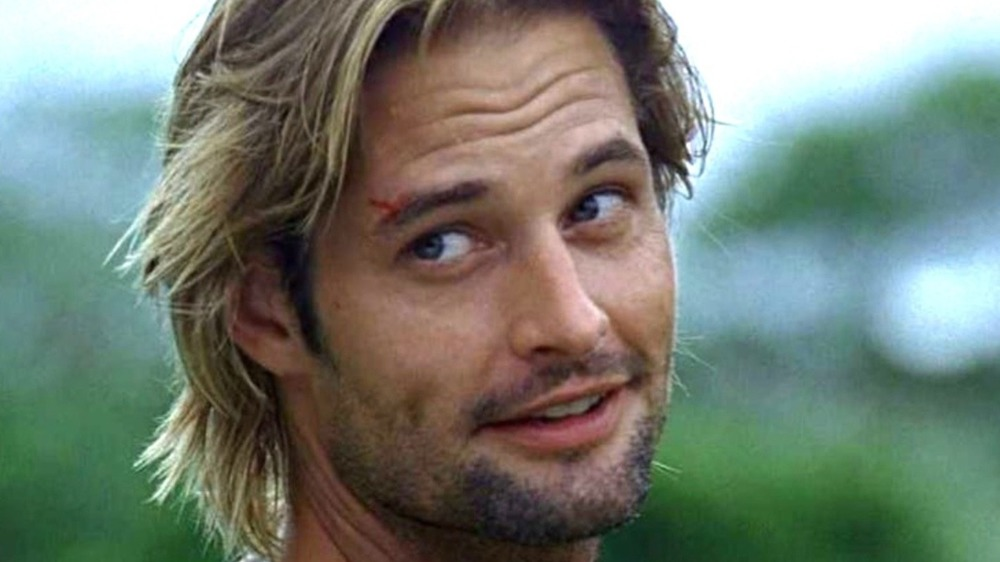 Actor Josh Holloway smiling as Sawyer Lost