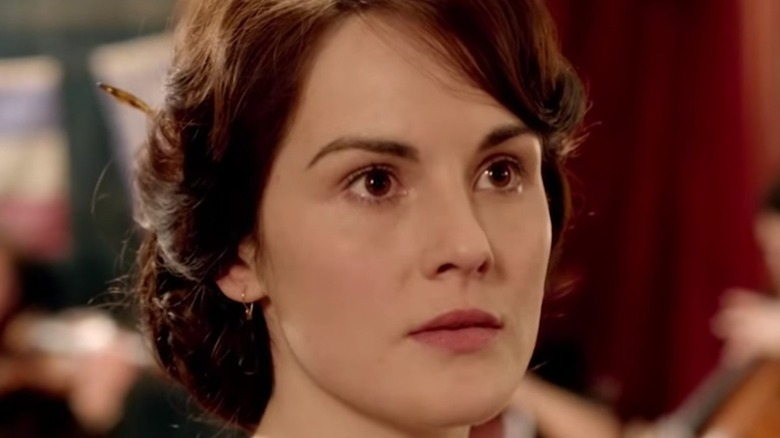 Mary  Crawley longing expression