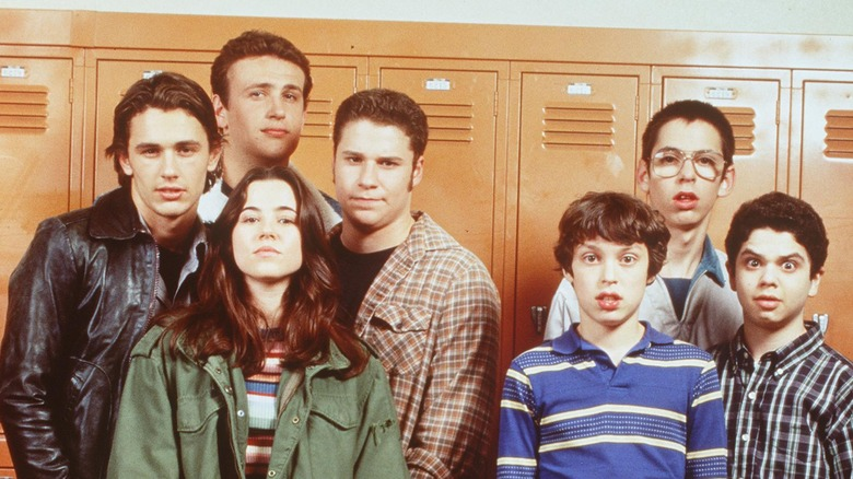 The cast of 'Freaks and Geeks'