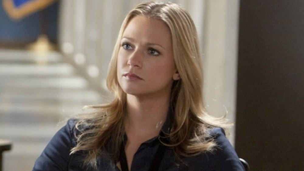 AJ Cook as media liason Jennifer Jareau on Criminal Minds