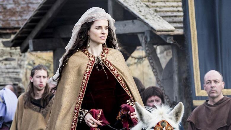 Amy Bailey as Kwenthrith on Vikings