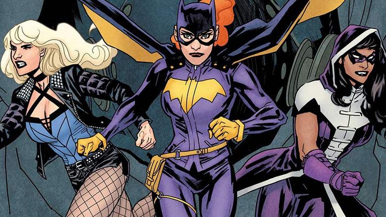 Batgirl with the Birds of Prey