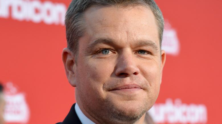 Matt Damon posing at an event