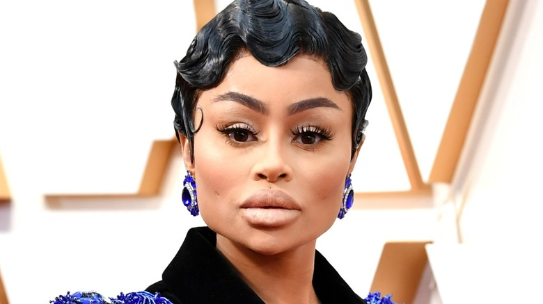 Blac Chyna attending Hollywood event
