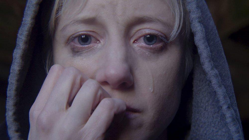 "Andrea Riseborough on Black Mirror's ""Crocodile"" episode"