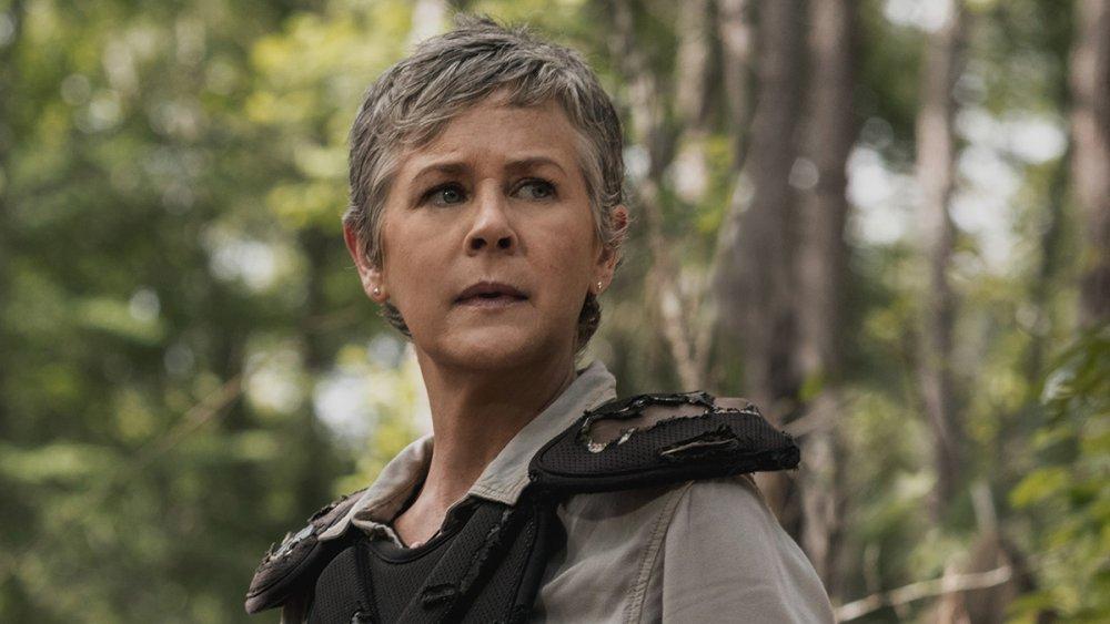Melissa McBride as Carol on The Walking Dead