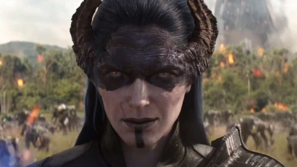 Proxima Midnight, as voiced by Carrie Coon in Avengers: Infinity War