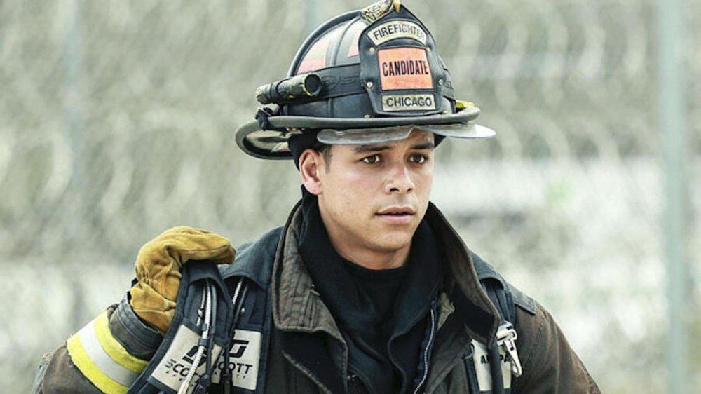 Charlie Barnett as Peter Mills on Chicago Fire