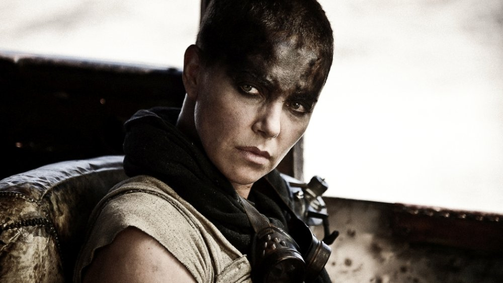 Charlize Theron as Furiosa in 2015's Mad Max: Fury Road
