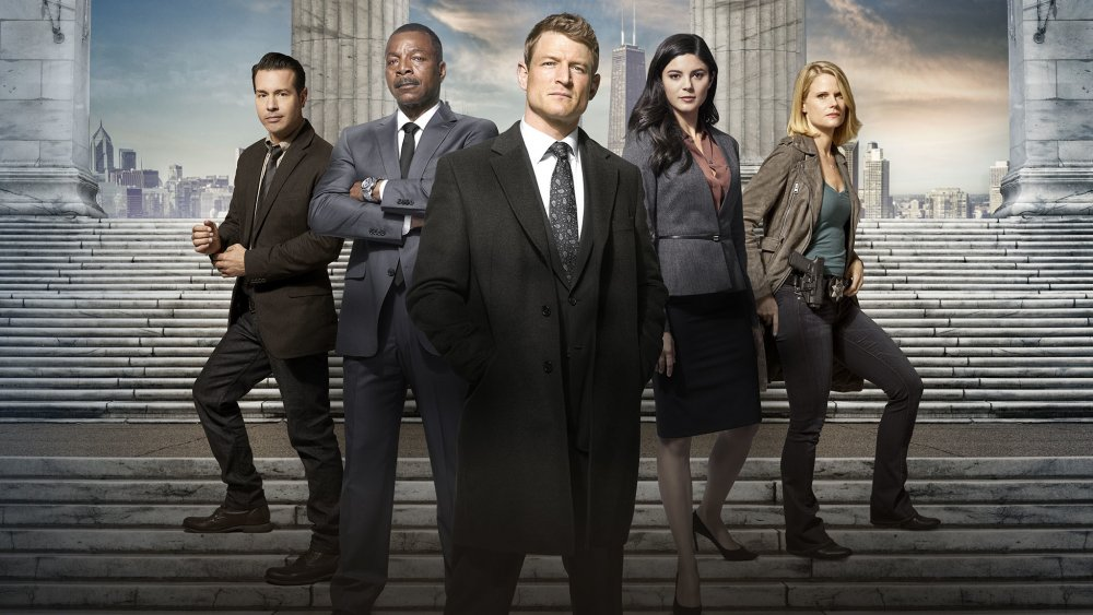 The cast of Chicago Justice