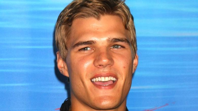 Chris Zylka smiling