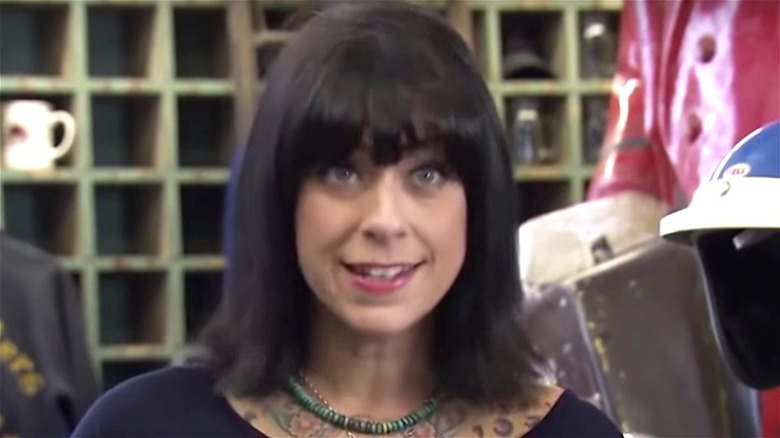 Danielle Colby wearing a necklace