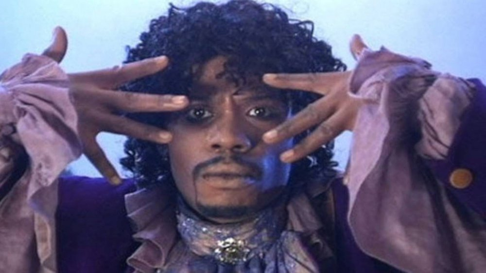 Dave Chappelle playing Prince in a classic sketch on Chappelle's Show