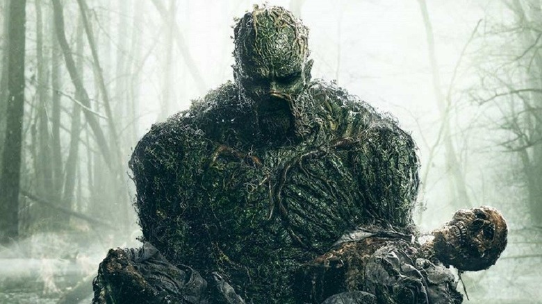 The poster for Swamp Thing