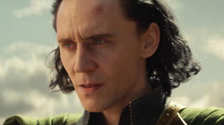 Loki TV Show Injured Face