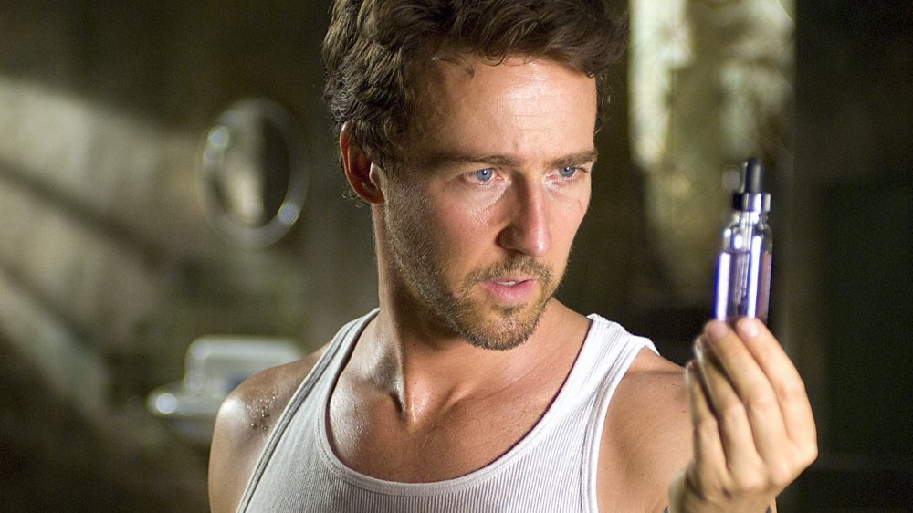 Ed Norton as Dr. Bruce Banner in The Incredible Hulk