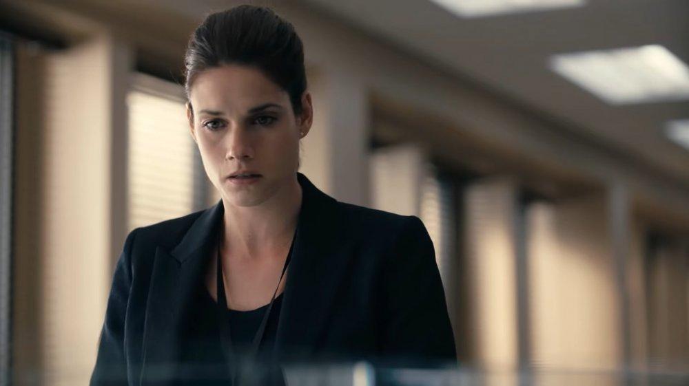Missy Peregrym in the FBI pilot