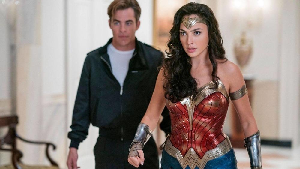 Gal Gadot and Chris Pine star in Wonder Woman 1984