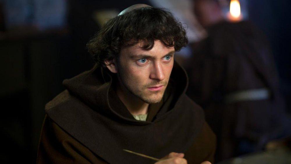 George Blagden as Athelstan on Vikings season 1