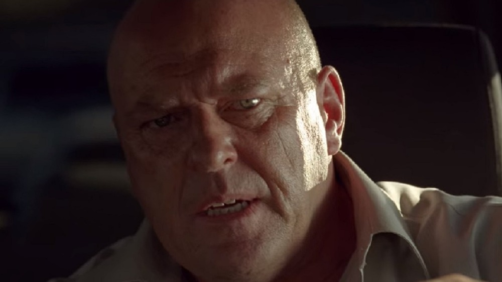 Dean Norris as Hank Schrader in Breaking Bad's One Minute episode