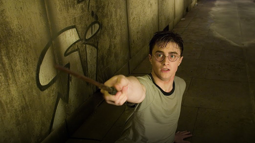 Harry Potter scared