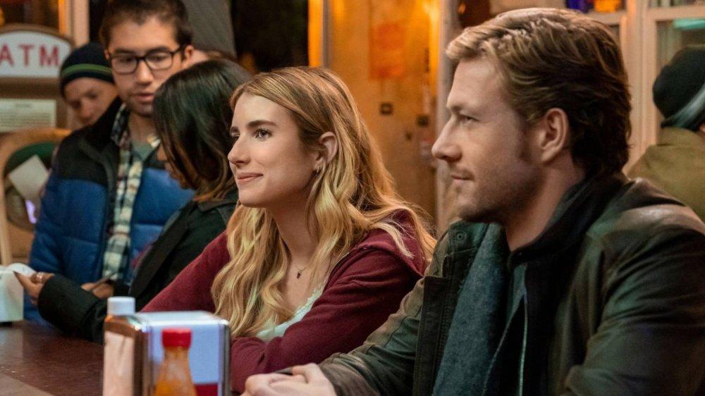 Emma Roberts and Luke Bracey star in Netflix's Holidate