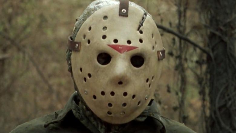 Jason Voorhees in the woods