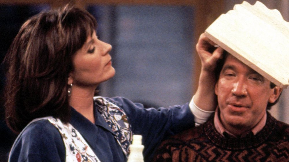 Patricia Richardson as Jill with Tim Allen as Tim in Home Improvement
