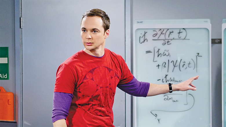 Jim Parsons as Sheldon on The Big Bang Theory