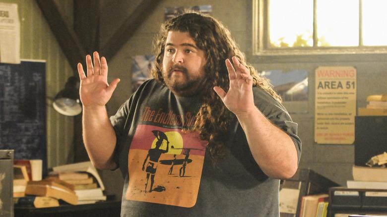 Jorge Garcia as Jerry Ortega in Hawaii Five-0