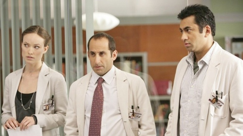 Olivia Wilde, Peter Jacobson, and Kal Penn on House