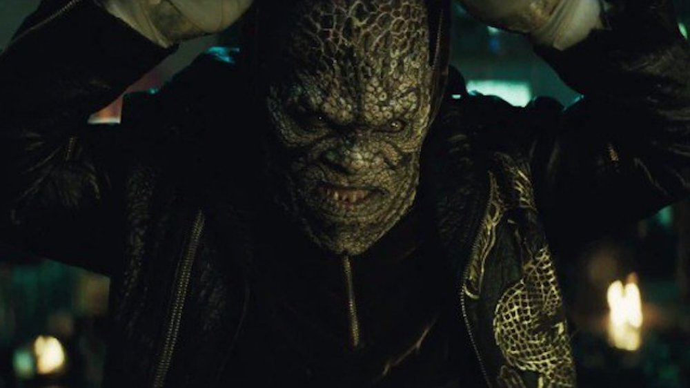 Adewale Akinnuoye-Agbaje as Killer Croc in 2016's Suicide Squad