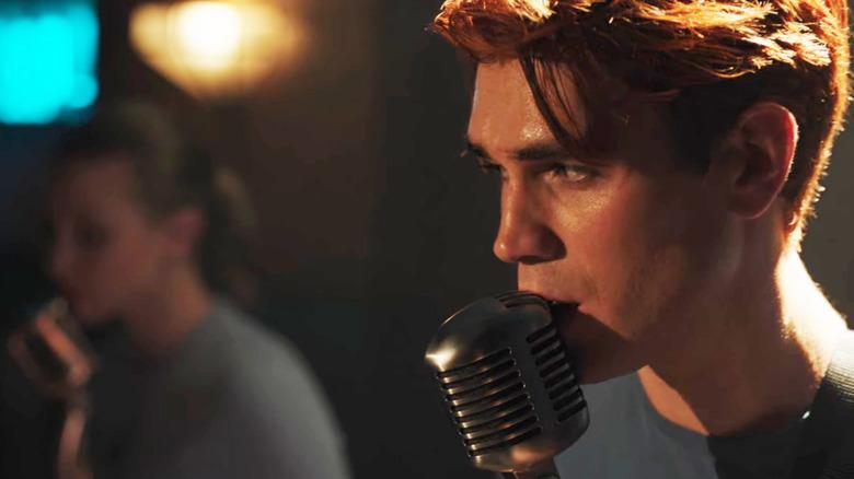 KJ Apa as Archie Andrews on Riverdale