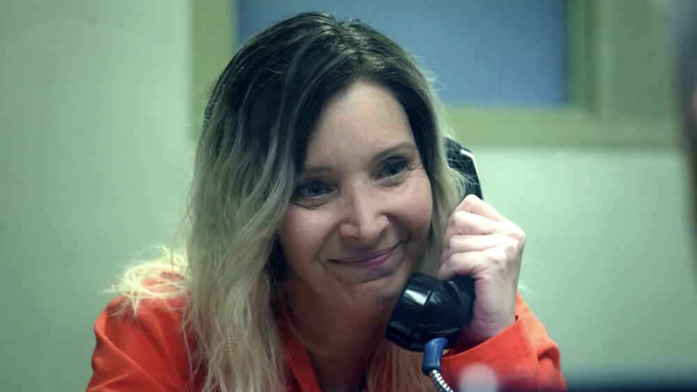 Lisa Kudrow as the imprisoned Maggie Naird on Space Force