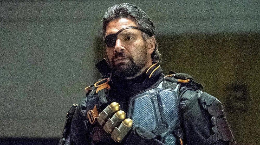 Manu Bennett as Deathstroke on Arrow